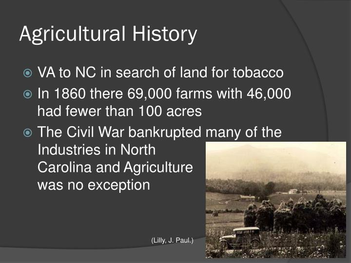 Agricultural History