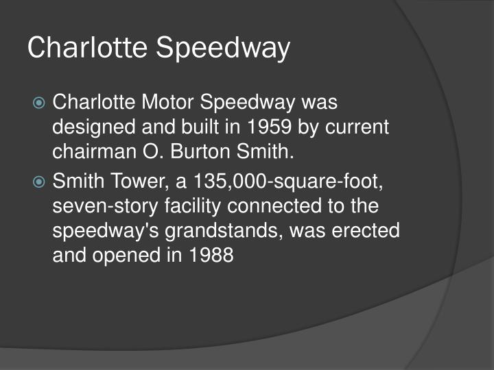 Charlotte Speedway