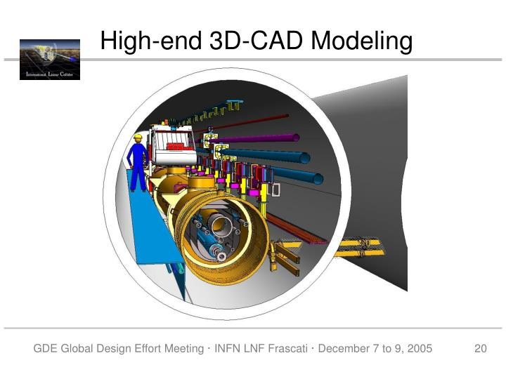 High-end 3D-CAD Modeling