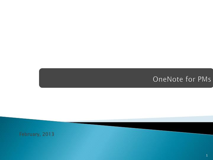 onenote for pms n.