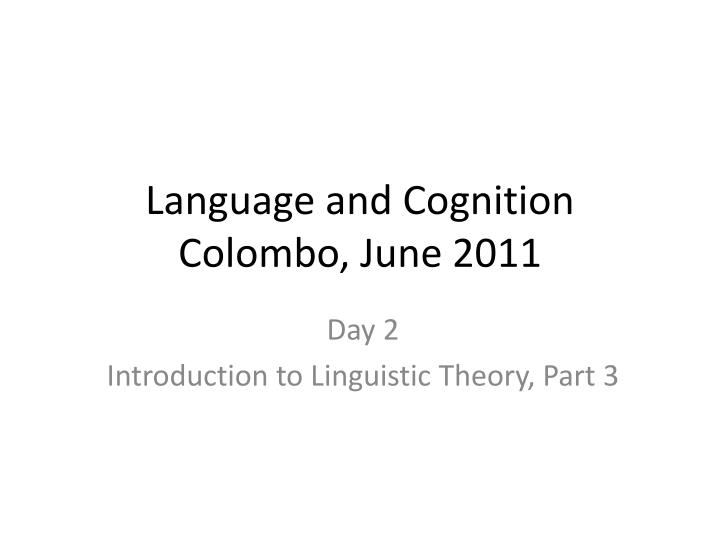 language and cognition colombo june 2011 n.