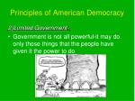 principles of american democracy1