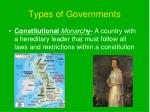 types of governments2