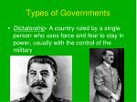 types of governments4
