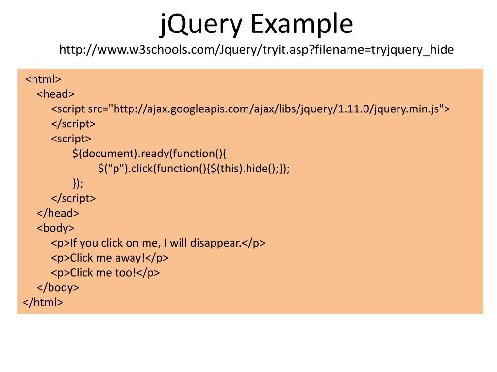PPT - Javascript and AJAX PowerPoint Presentation - ID:5110862