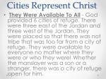 cities represent christ