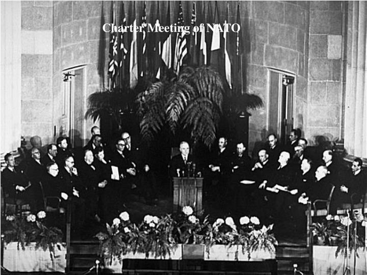 Charter Meeting of NATO