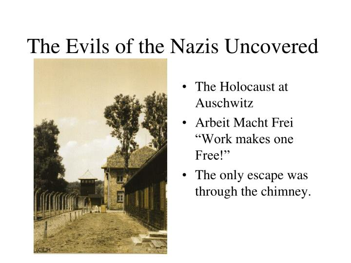 The Evils of the Nazis Uncovered