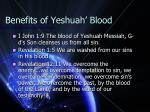 benefits of yeshuah blood2