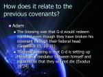 how does it relate to the previous covenants