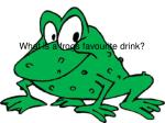 what is a frogs favourite drink