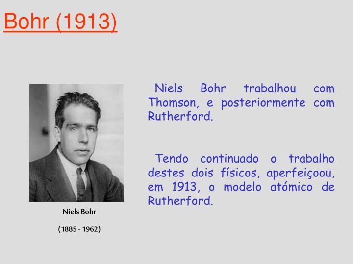 Bohr (1913)