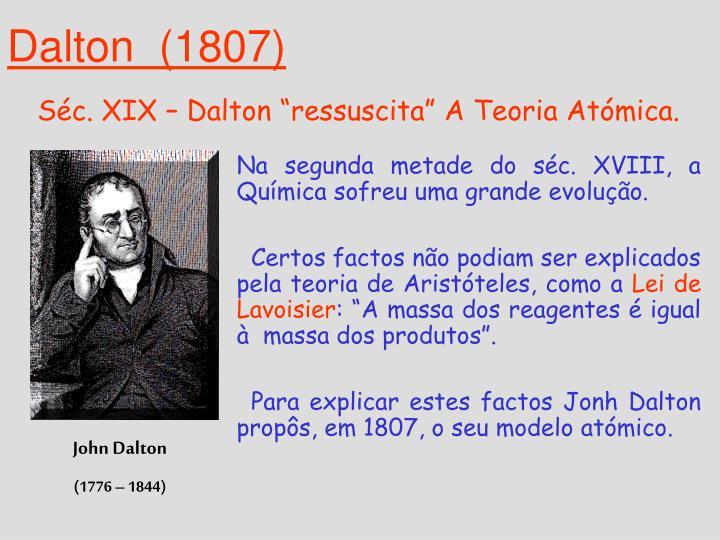 Dalton  (1807)