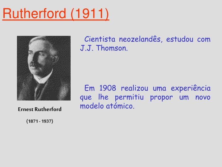 Rutherford (1911)