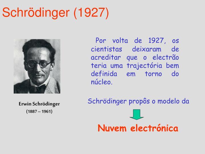 Schrödinger (1927)