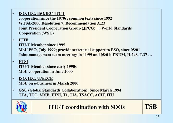 ISO, IEC, ISO/IEC JTC 1