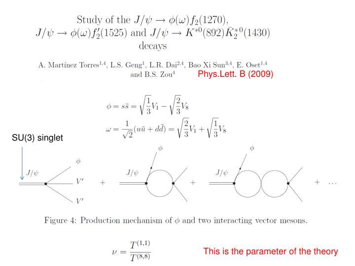 Phys.Lett. B (2009)