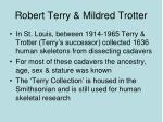 robert terry mildred trotter
