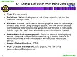 17 change link color when using joint search 6870