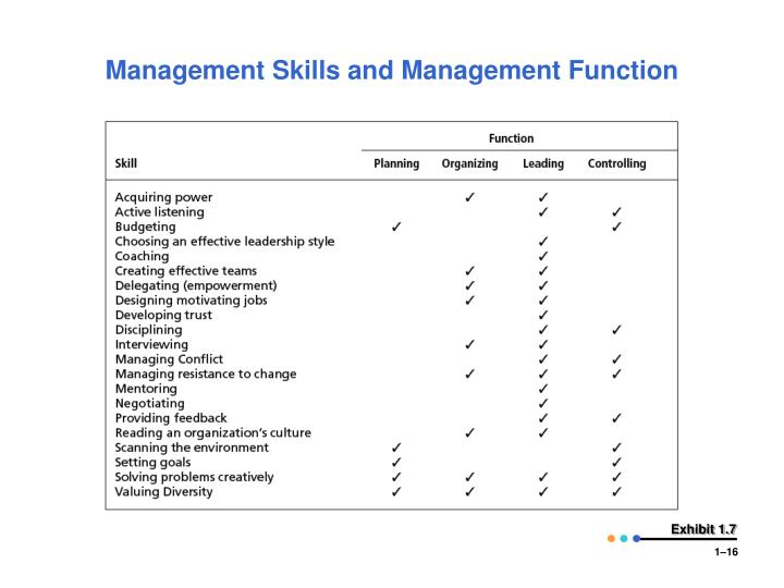 acquiring management skills Roles, responsibilities, and skills a program, regardless of its structure, purpose, or outcome will entail a project or a number of projects (or a mix of projects and other programs) that is to say, projects by default are present in every program and as such, certain project management roles must be present within every program.