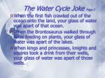 the water cycle joke page 21