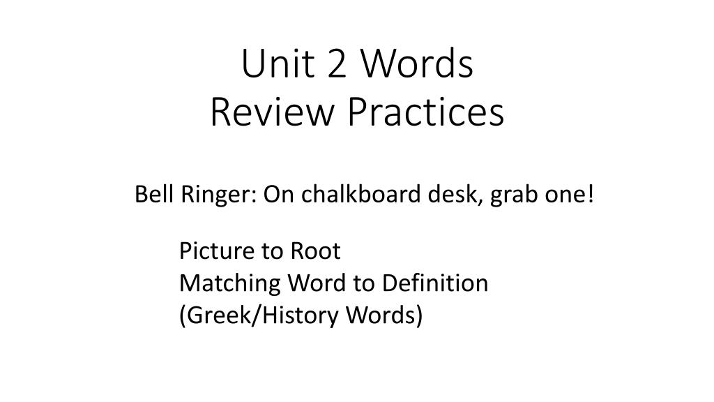 definition of the word review