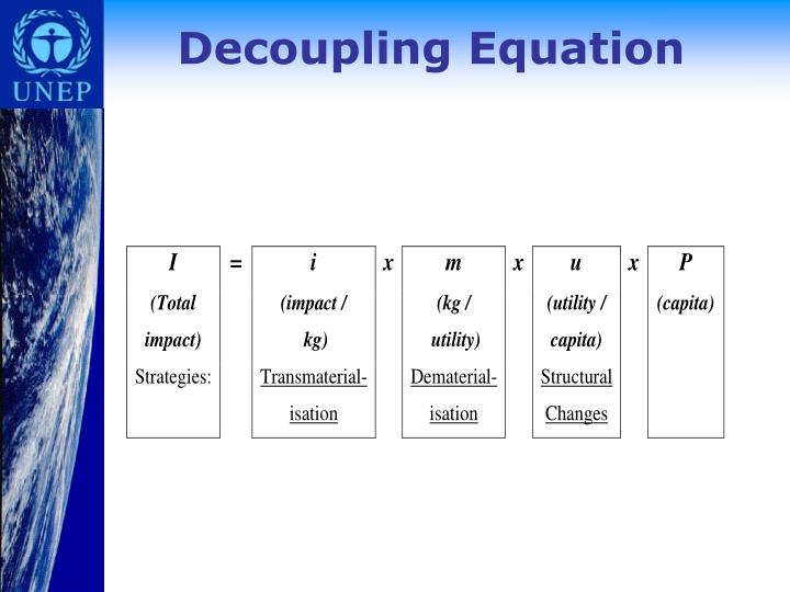 Decoupling Equation