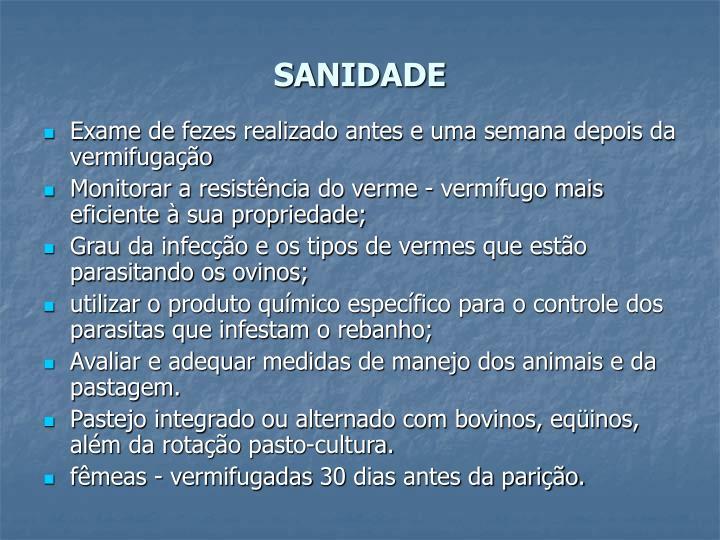 SANIDADE