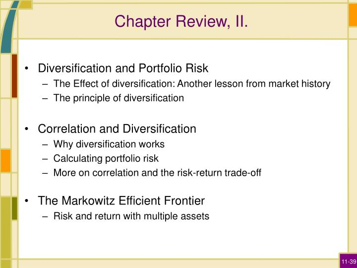 Chapter Review, II.