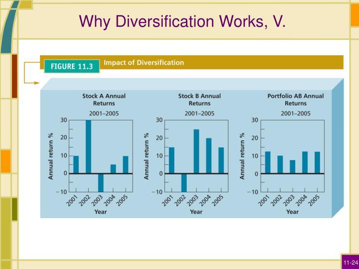 Why Diversification Works, V.