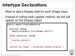 intertype declarations