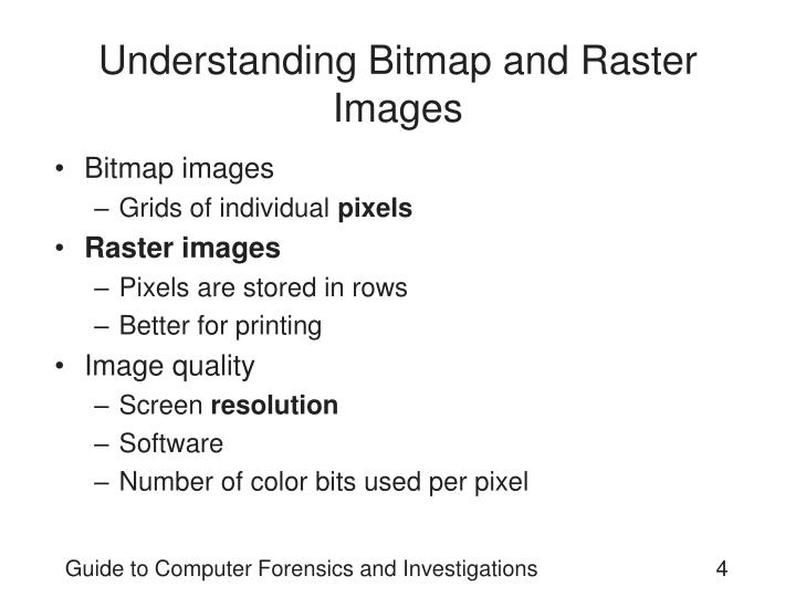 Understanding Bitmap and Raster Images