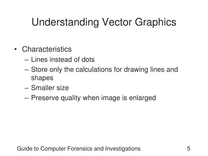 Understanding Vector Graphics