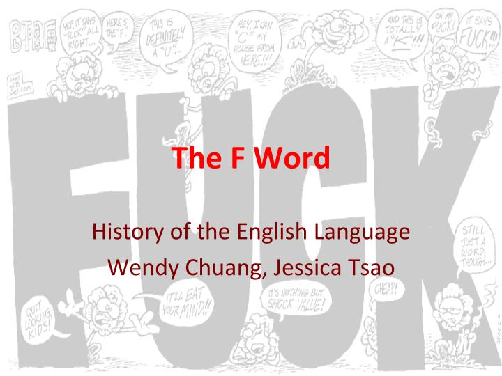 History of words