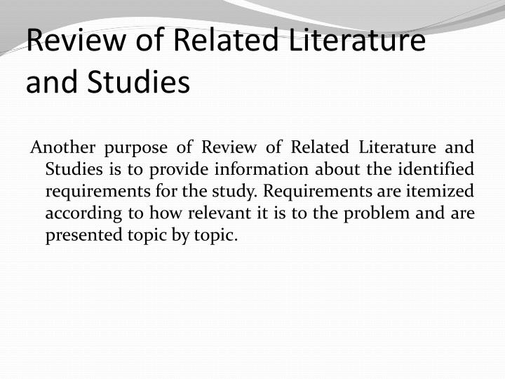 Chapter 2 literature review and theoretical framework