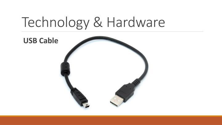 Technology & Hardware