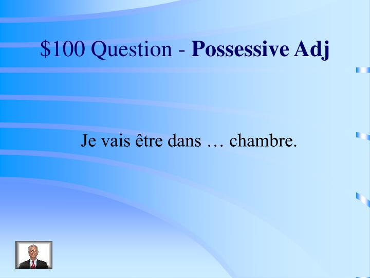 $100 Question -