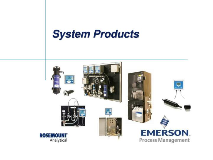 system products n.