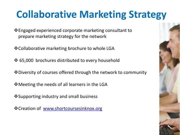 Collaborative Marketing Strategy