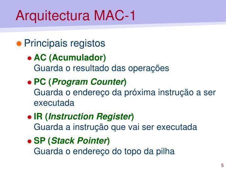 Arquitectura MAC-1
