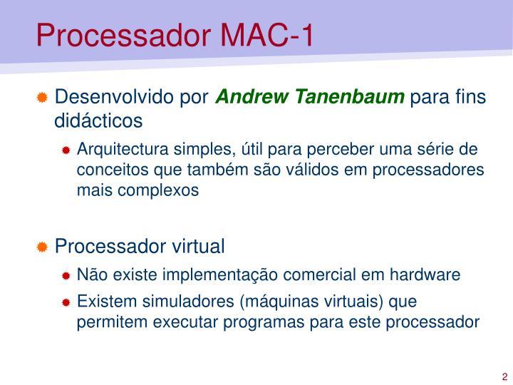 Processador mac 11