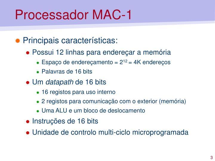 Processador mac 12