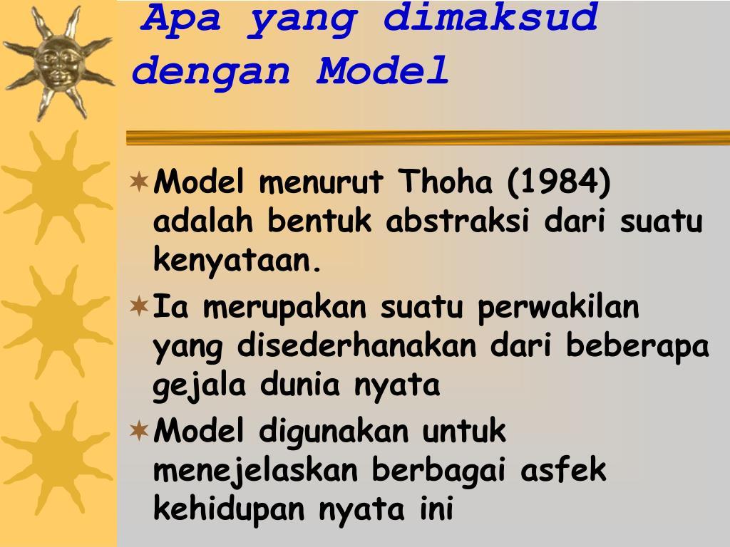 PPT - Model-Model Kebijakan PowerPoint Presentation - ID ...