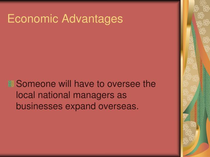 Economic Advantages