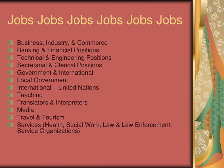 Jobs Jobs Jobs Jobs Jobs Jobs