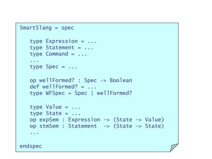 SmartSlang = spec