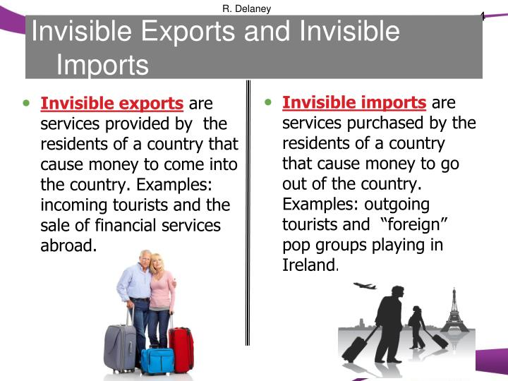Invisible Exports and Invisible Imports
