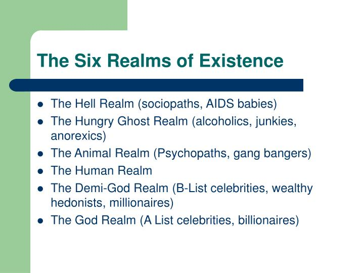 The Six Realms of Existence