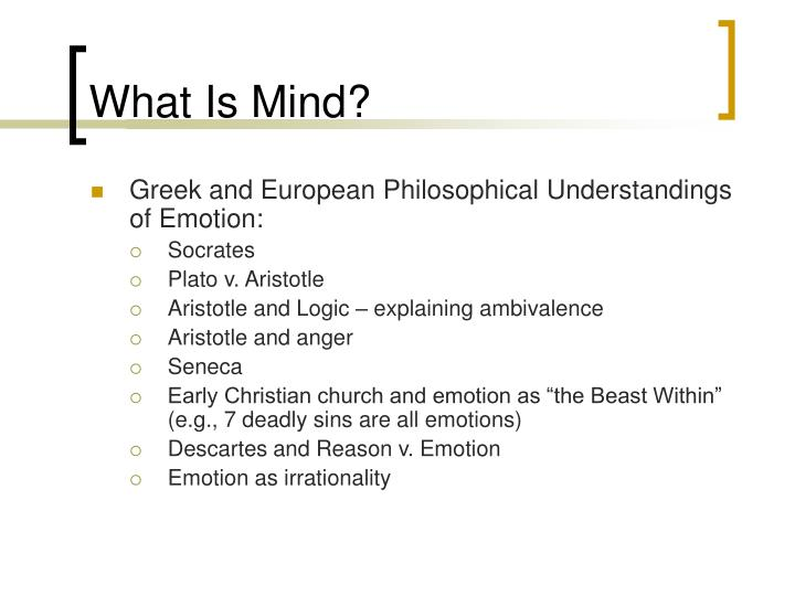 What Is Mind?