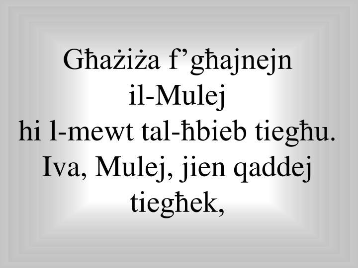 Għażiża f'għajnejn